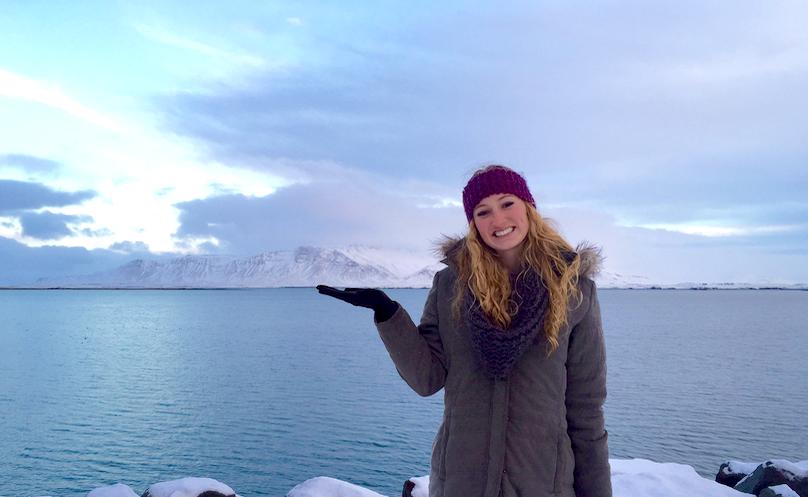 Sigourney in Iceland